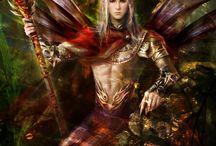 fate, sirene, fantasy creature