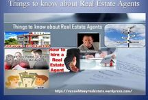 Things to know about Real Estate Agents / A real estate agent can provide many career opportunities.You may start out working for a small or large company, and progress to managing your own firm with additional agents.