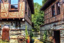 Köy evleri fotoğrafları