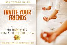 Chopra meditation -Finding Your Flow