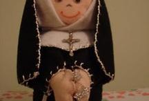 Bonecas de santos