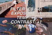 VSCO Filter Tips