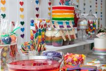 Ellie's rainbow party
