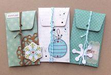 Karten, Umschläge, Envelopes
