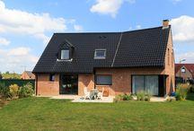 Réalisation à LESQUIN (59) / Maison contemporaine à l'architecture travaillée de 157 m². Réalisée à Lesquin - Métropole Lilloise.