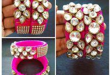 sizzling silk thread jewellery