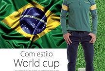É tempo de futebol \o/ / #copa #worldcup #colcci