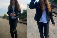 Fashion / Inspiracje ze świata mody oraz moje stylizacje