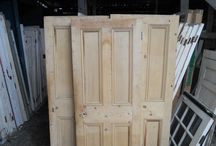 Reclaimed Doors / Some of the many many doors we have reclaimed! We have lots...