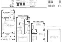 Narrow Lot Floor Plan