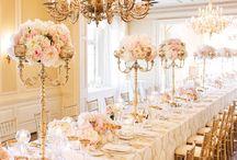 Blush, Champagne, Gold Wedding Theme / Wedding Theme