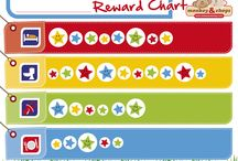 Reward Charts / Reward Charts are a fun and interactive way to set behavioural goals with your kids