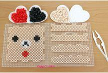 Hama Rilakumma Perler beads