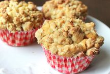 Muffin pommes caramels crumble