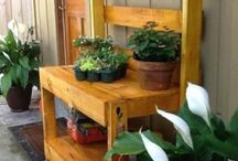 Potting Bench / by On My Plate