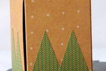 Gift box punchboard