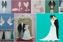 Wedding die cuts