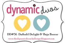 Dynamic Duos Card Colour Challenge  / by Alison Barclay - Independent Stampin' Up!® Demonstrator