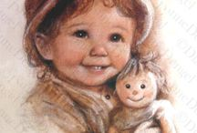 Illustrations ~ Dianne Dengel ⋇⋇ / Unfortunately Dianne passed away in May of 2012, but her talent lives on. R.I.P.
