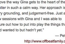 Testimonial Board / by VedaSun - Gina Rafkind