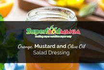 Superfood salad dressings / Healthy, nutritious and low calorie salad dressings which contain superfoods