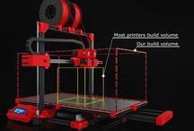 3Dealo / Think Big,  Print Big. 3Dealo 3d Printers.