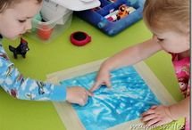 Toddler creative activities