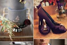 Plum&Grey wedding
