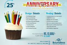Boundless Technologies 13th Anniversary Discounts Packages / On our 13th anniversary we have been offering 50% Off on our all package