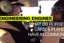 Planes, Cars, Engines Resources for K12 / MIT resources on planes, cars, and engines relating to Science Out Loud Season 1 Episode 6, Engineering Engines  #engineering #stem #engines