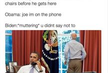 Joe Obama and Barack Biden