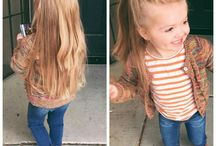 little girl's hairstyle