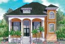 Basement Home Plans-Drive Under House Plans l The Sater Design Collection / Sater Design's Drive Under floor plans are designs that feature elevated living spaces, allowing for vehicle access below. These house plans may be elevated for site conditions that may require such design solutions because of flood or tidal considerations. Drive Under home plans are usually used for Coastal Homes or Beach front property. We at Sater Design Company like to call these Island Basements.