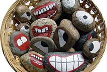 Painted Rock Art / Painted Rocks / by Fran Barth