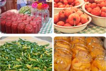 Preserving Food / Food preservation methods including drying, dehydrating, canning etc.