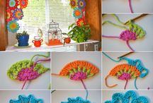 Crochet home decoration