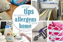 Tips to Reduce Allergens in the Home / Easy tips to help families reduce or eliminate the major sources of allergens in the home.