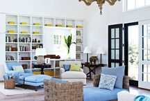 Living room ideas / by Brittany Eckstrom