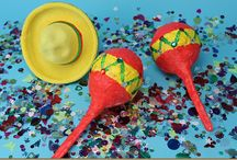 HOLIDAY: Cinco De Mayo / Crafts, snacks and activities for kids to celebrate Cinco De Mayo / by Craft Project Ideas