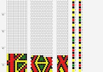 мои схемы для вязаных жгутов (my patterns for crochet)