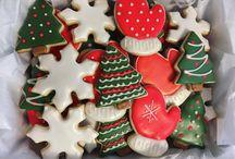 @Cookiesbykayli Christmas Cookies