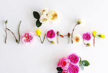 flower words