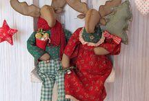 Šití vánoce