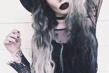 Maquiagem bruxa