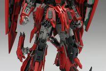 Zeta Gundam Red
