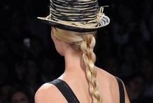 Braids and twists or plaits please / From classic plaits to fishtail braids, Seen @ Giorgio Armani to Michael kors
