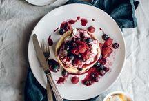 strawberries, raspberries, blackberries