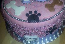 Honden taart