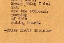 Tyler Knott Gregson Quotes