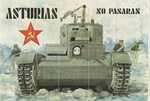 carteles guerra civil